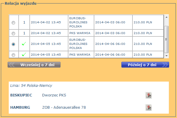bilety eurobus-eurolines biskupiec hamburg