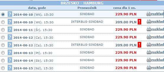 bilety autokarowe brzesko-hamburg