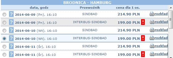 bilety autokarowe sindbad z brodnicy do hamburga